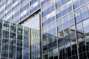 Glasfassade BüroGebäude