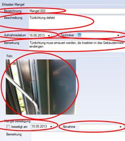 Mängel werden im computergestützten Permanent-Monitoring genau erfasst